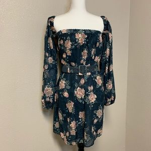 We Are Kindred Lucille Mini Dress floral
